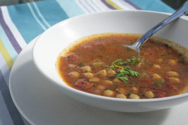 Soupe épicée