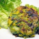 galette aux légumes verts