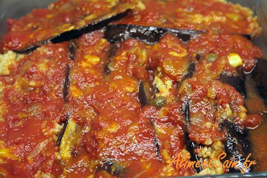 Recette avec la sauce tomate