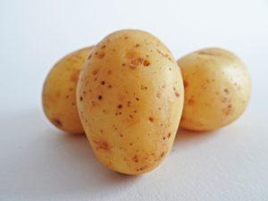 Patates lavées