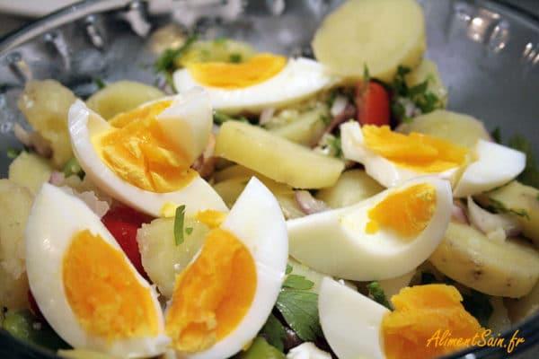 Salade pleine d'oméga-3