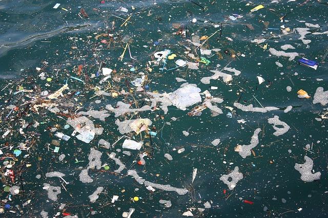 Pollution de l'eau de mer