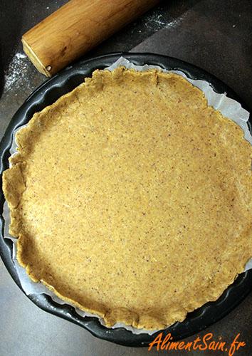 Pâte à tarte aux noisette