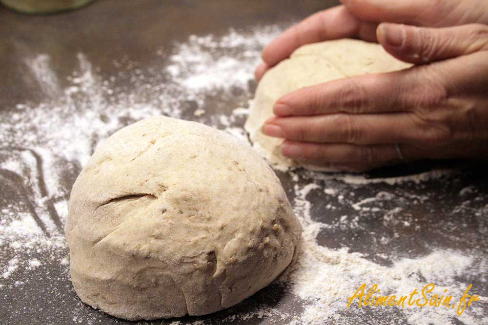Recette de la pâte à tarte au Tahin