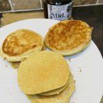 Pancake à la farine de coco