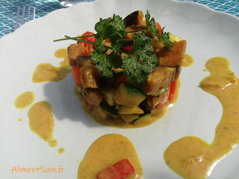 Recette du curry de légumes