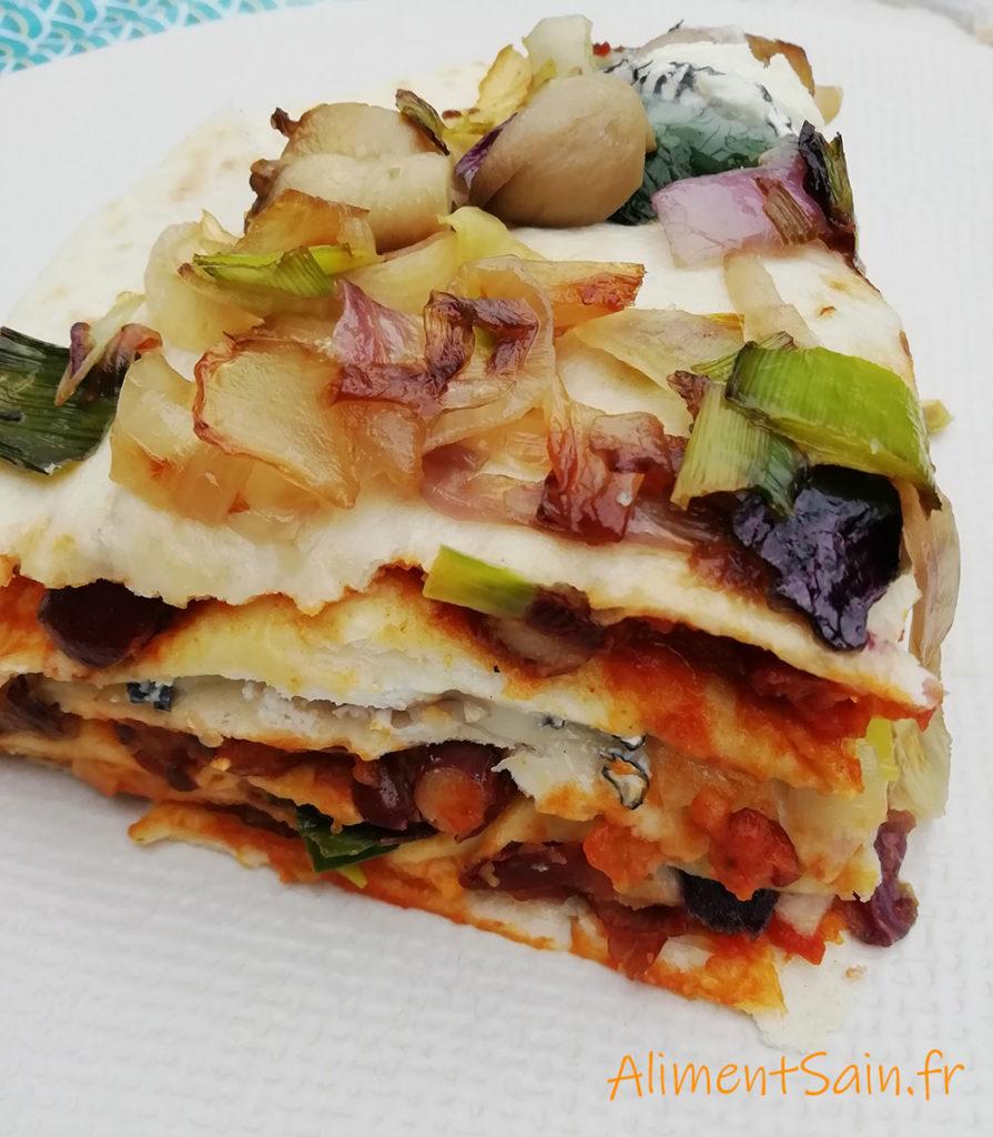 recette des lasagnes aux tortillas