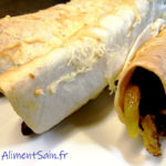 Tortilla haricot rouge curry