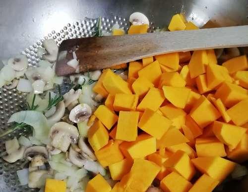 cuisson du butternut