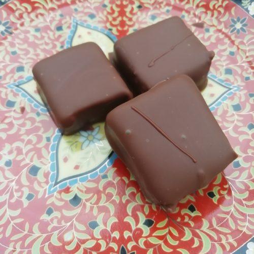 Chocolats pralinés maison